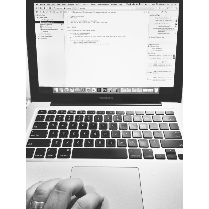 Startup Journey - Status Update - Coding in Apple Swift