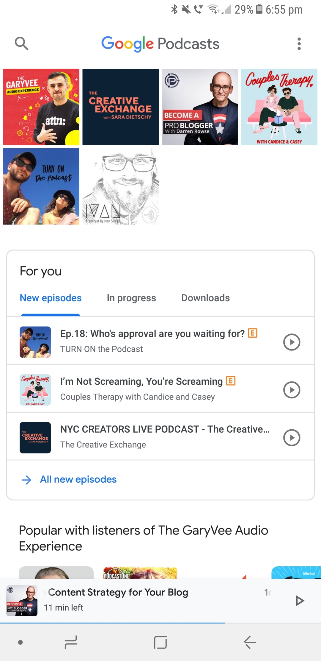 Why the Google Podcasts app is THE BEST podcast app for